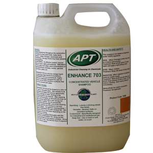 Enhance 703 - Highly Concentrated Traffic Film Remover, Wash & Wax