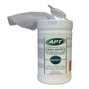 Sani-Wipes - Antibacterial Hard Surface Cleaning & Disinfectant Wipes