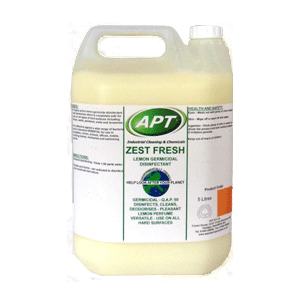 Zest Fresh - Concentrated Disinfectant & Hard Surface Cleaner