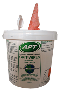 Grit Wipes - Hand Cleaning Wipes