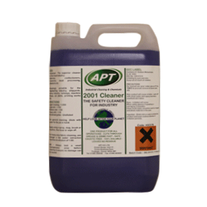 2001 Safety Cleaner - Aqueous Degreaser and Hard Surface Cleaner