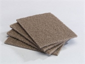 Abrasive Cleaning & Scouring Sponge Pads - 1 Case x 25